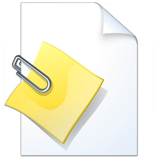 IconExperience » V-Collection » Document Attachment Icon