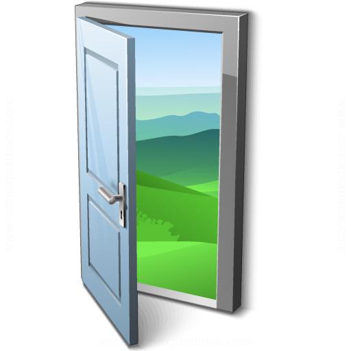 Door Open Icon  sc 1 st  IconExperience.com & IconExperience » V-Collection » Door Open Icon pezcame.com