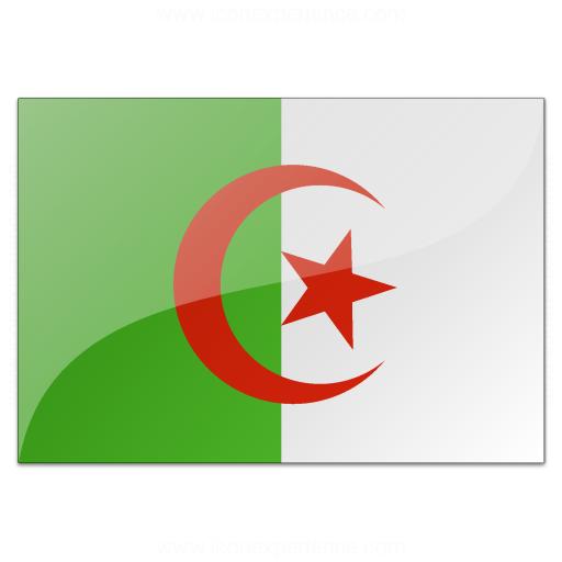 IconExperience  VCollection  Flag Algeria Icon