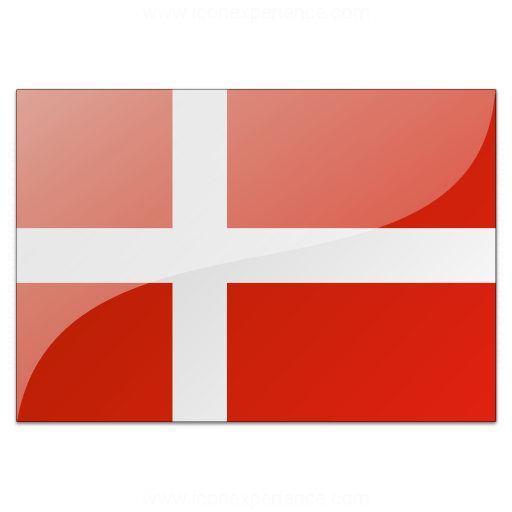 Billedresultat for danish flag size 32x32