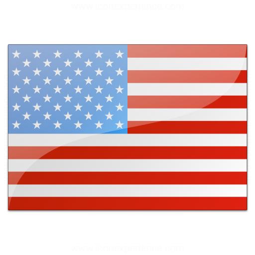 Iconexperience 187 v collection 187 flag usa icon