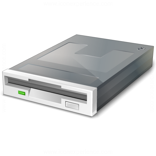 IconExperience » V-Collection » Floppy Drive Icon