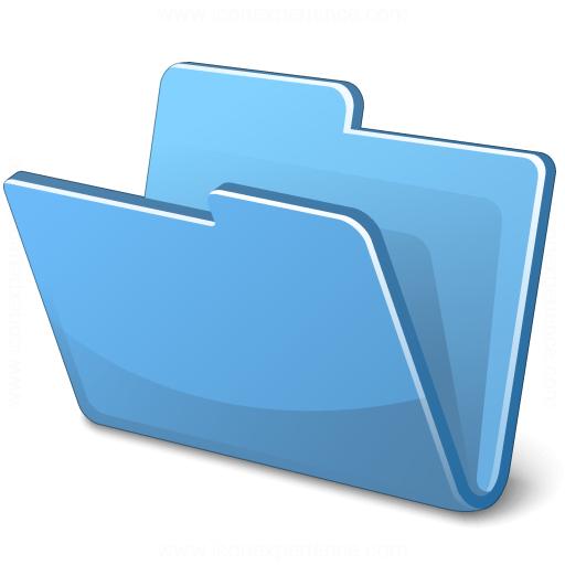 file cabinet icon mac. Folder Blue Icon File Cabinet Mac
