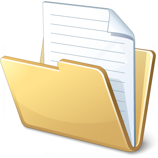 IconExperience » V-Collection » Folder Document Icon