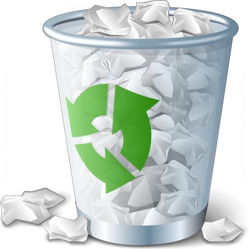 Restore files in recycle bin