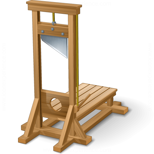 IconExperience » V-Collection » Guillotine Icon