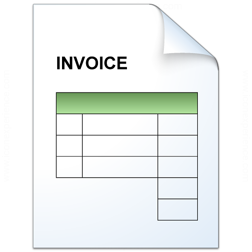 IconExperience » V-Collection » Invoice Icon