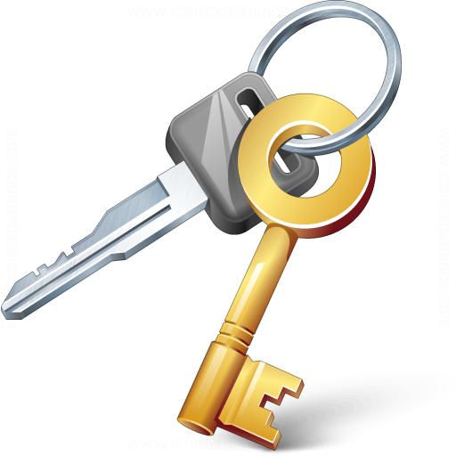 Как сделать дубликат ключа 1с