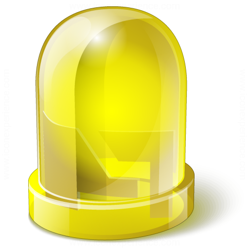 IconExperience V Collection Led Yellow Icon