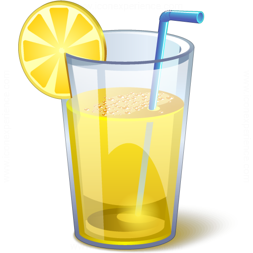 iconexperience 187 vcollection 187 lemonade glass icon