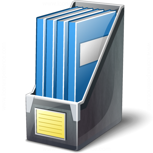 IconExperience » V-Collection » Magazine Folder Icon