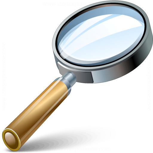 iconexperience 187 vcollection 187 magnifying glass icon