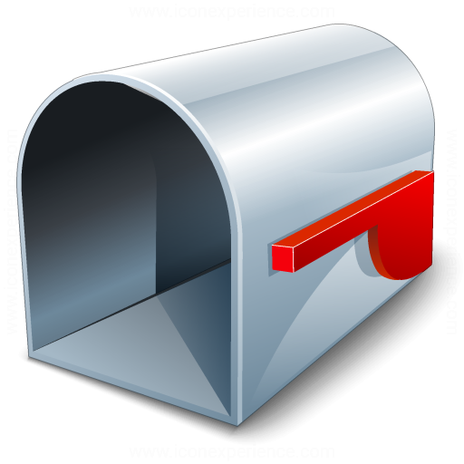 Mailbox With Mail Mailbox Empty Icon With Mail Nongzico