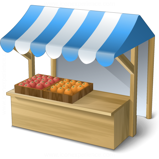 IconExperience V Collection Market Stand Icon