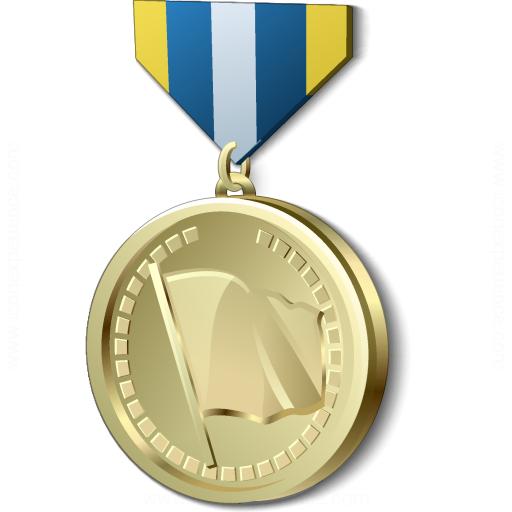 Золотая медаль гифка, день