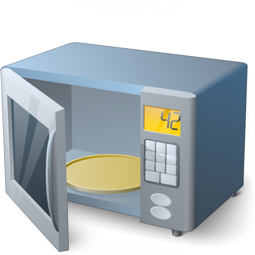 IconExperience » V-Collection » Microwave Oven Open Icon