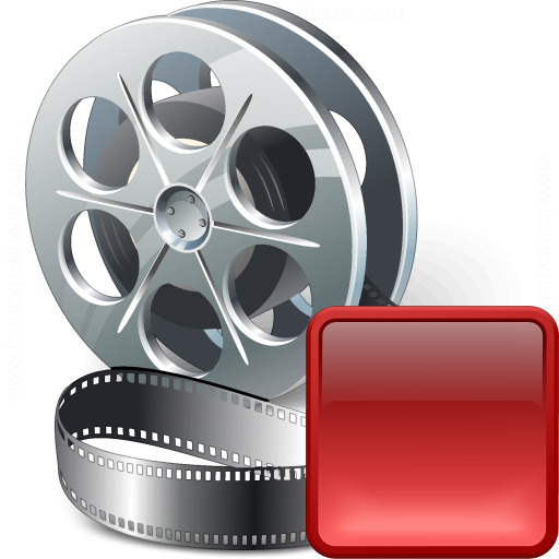 Movie Stop Icon