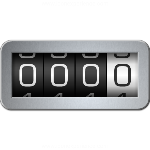 iconexperience 187 vcollection 187 odometer icon