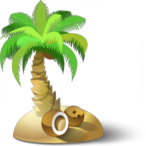 Iconexperience 187 V Collection 187 Palm Tree Icon