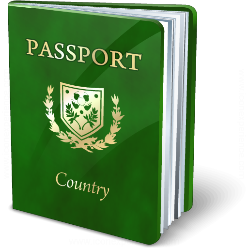 Iconexperience 187 v collection 187 passport green icon