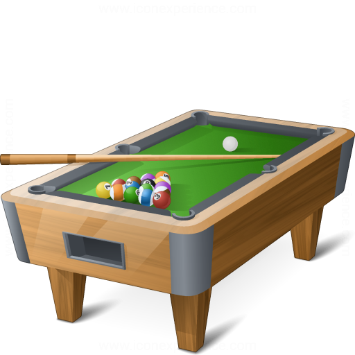 IconExperience u00bb V-Collection u00bb Pool Table Icon