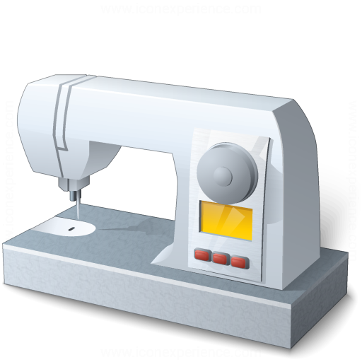 IconExperience  VCollection  Sewing Machine Icon