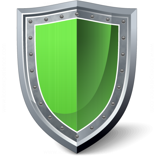 Iconexperience 187 V Collection 187 Shield Green Icon