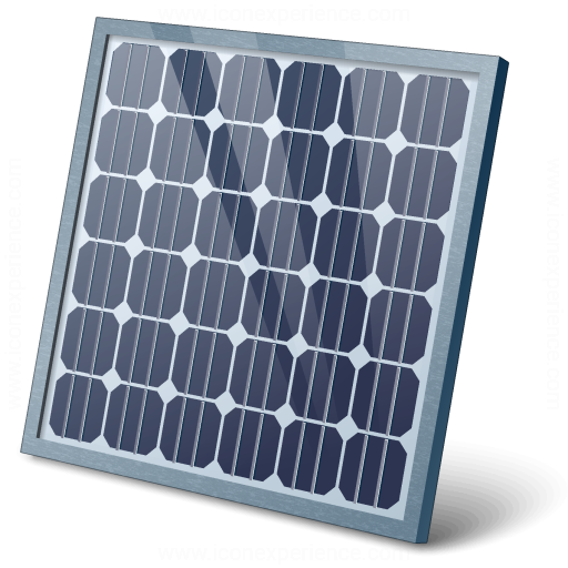 IconExperience » V-Collection » Solar Panel Icon