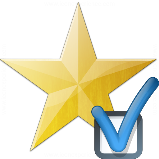Star Yellow Preferences Icon