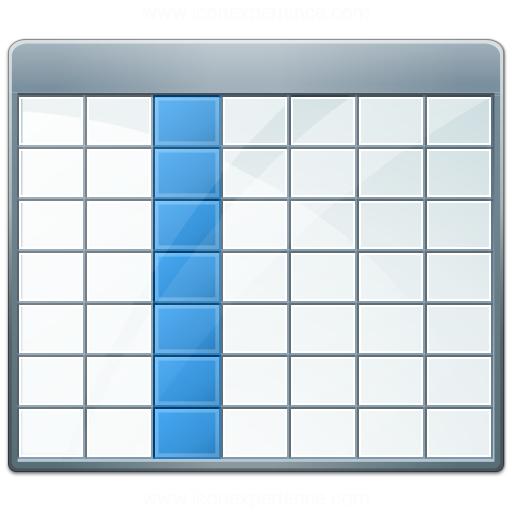 Data Table Icon Table 2 Selection Column Icon