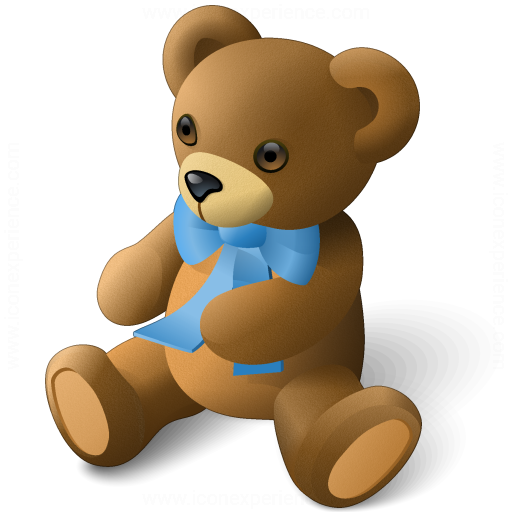 Iconexperience 187 v collection 187 teddy bear icon