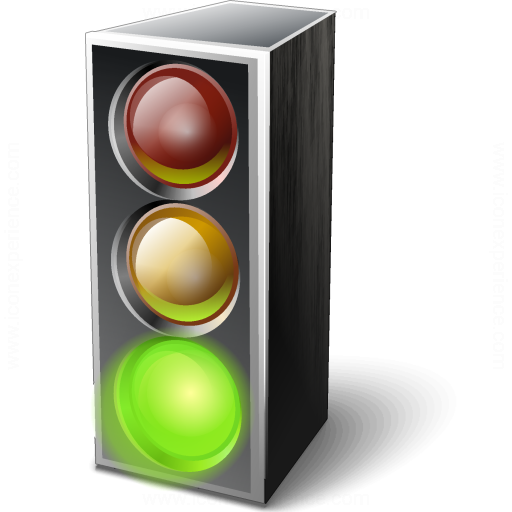 IconExperience » V-Collection » Trafficlight Green Icon