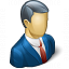 Businessman Icon 64x64